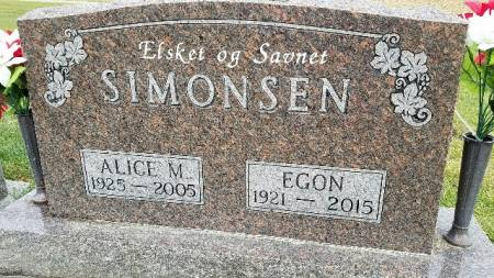 JACOBSEN SIMONSEN, ALICE M - Shelby County, Iowa | ALICE M JACOBSEN SIMONSEN