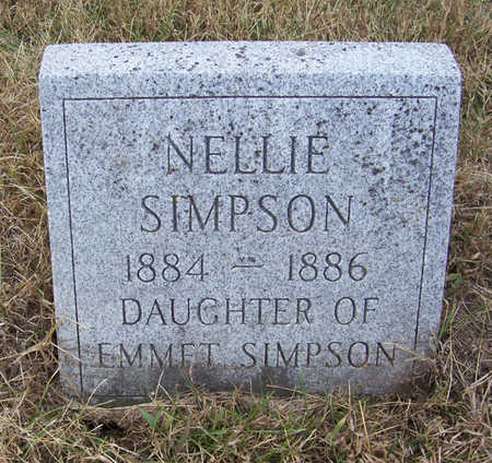 SIMPSON, NELLIE - Shelby County, Iowa | NELLIE SIMPSON