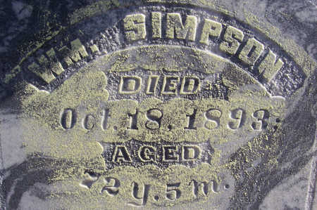 SIMPSON, WM. (CLOSE-UP) - Shelby County, Iowa | WM. (CLOSE-UP) SIMPSON