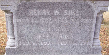 SIMS, JESSIE (CLOSE-UP) - Shelby County, Iowa | JESSIE (CLOSE-UP) SIMS