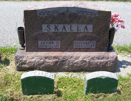 SKALLA, JACOB F. (FATHER) - Shelby County, Iowa | JACOB F. (FATHER) SKALLA