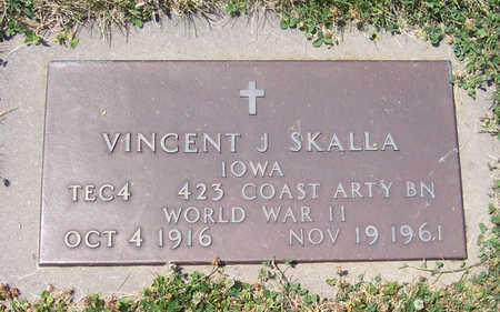 SKALLA, VINCENT J. (MILITARY) - Shelby County, Iowa | VINCENT J. (MILITARY) SKALLA