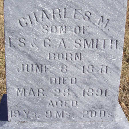 SMITH, CHARLES M. (CLOSE-UP) - Shelby County, Iowa | CHARLES M. (CLOSE-UP) SMITH