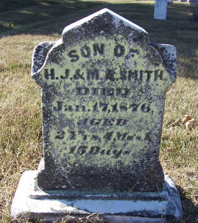 SMITH, HENRY (BACK) - Shelby County, Iowa | HENRY (BACK) SMITH