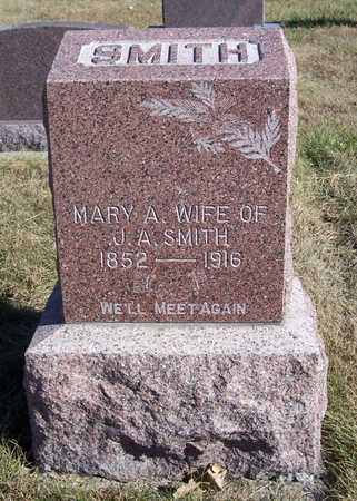 SMITH, MARY A. - Shelby County, Iowa | MARY A. SMITH