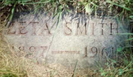 SMITH, ZETA - Shelby County, Iowa | ZETA SMITH