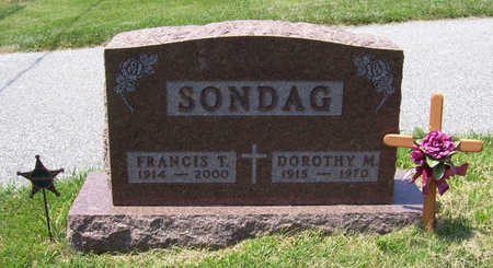 SONDAG, FRANCIS T. (MILITARY) - Shelby County, Iowa | FRANCIS T. (MILITARY) SONDAG