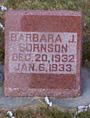 SORNSON, BARBARA J - Shelby County, Iowa | BARBARA J SORNSON