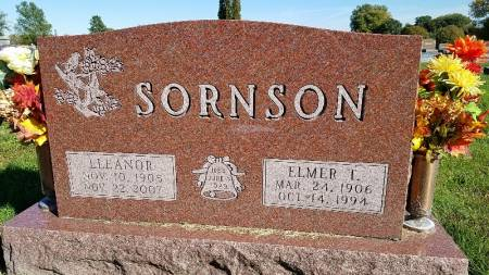 MADSEN SORNSON, BERTHA ELEANOR - Shelby County, Iowa | BERTHA ELEANOR MADSEN SORNSON