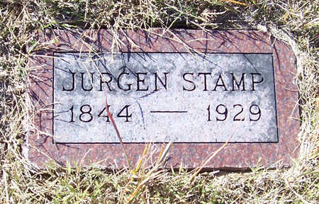 STAMP, JURGEN - Shelby County, Iowa | JURGEN STAMP