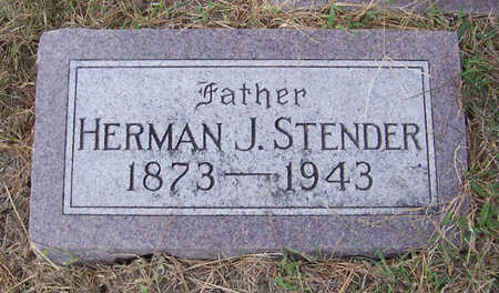 STENDER, HERMAN J. (FATHER) - Shelby County, Iowa | HERMAN J. (FATHER) STENDER