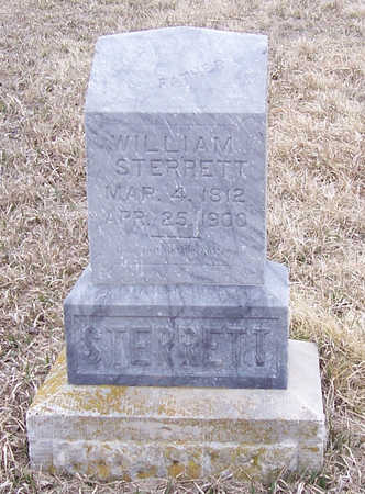 STERRETT, WILLIAM - Shelby County, Iowa | WILLIAM STERRETT