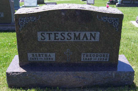STESSMAN, BERTHA - Shelby County, Iowa | BERTHA STESSMAN