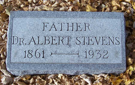 STEVENS, ALBERT, DR. (FATHER) - Shelby County, Iowa | ALBERT, DR. (FATHER) STEVENS