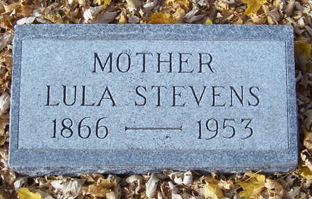 STEVENS, LULA (MOTHER) - Shelby County, Iowa | LULA (MOTHER) STEVENS