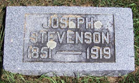 STEVENSON, JOSEPH - Shelby County, Iowa | JOSEPH STEVENSON