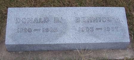 STEWART, BERNICE A. - Shelby County, Iowa | BERNICE A. STEWART