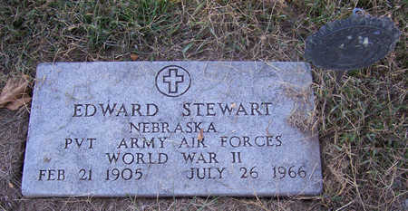 STEWART, EDWARD (MILITARY) - Shelby County, Iowa | EDWARD (MILITARY) STEWART