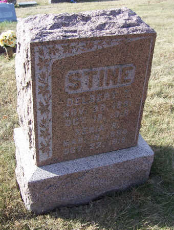 STINE, DELBERT T. - Shelby County, Iowa | DELBERT T. STINE