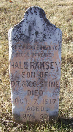 STINE, HALE RAMSEY - Shelby County, Iowa | HALE RAMSEY STINE