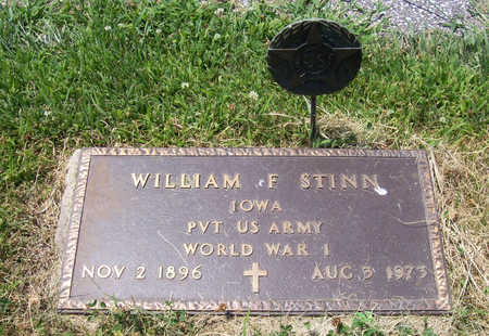 STINN, WILLIAM F. (MILITARY) - Shelby County, Iowa | WILLIAM F. (MILITARY) STINN