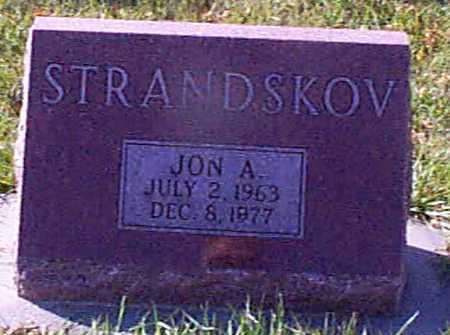 STRANDSKOV, JON A - Shelby County, Iowa | JON A STRANDSKOV