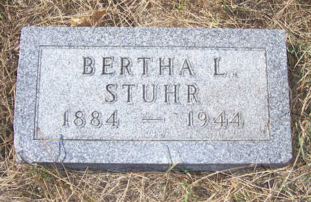 STUHR, BERTHA L. - Shelby County, Iowa | BERTHA L. STUHR