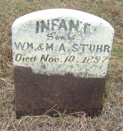 STUHR, INFANT SON - Shelby County, Iowa   INFANT SON STUHR