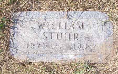 STUHR, WILLIAM - Shelby County, Iowa   WILLIAM STUHR