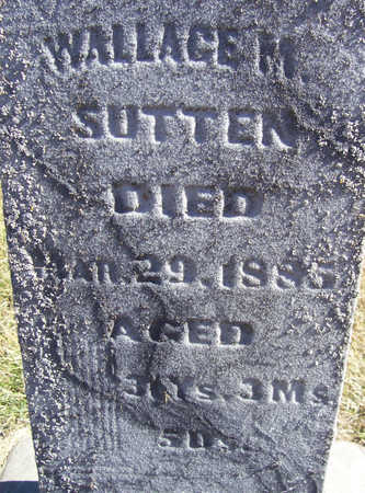 SUTTEN, WALLACE M. (CLOSE-UP) - Shelby County, Iowa | WALLACE M. (CLOSE-UP) SUTTEN