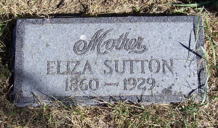 SUTTON, ELIZA (MOTHER) - Shelby County, Iowa | ELIZA (MOTHER) SUTTON