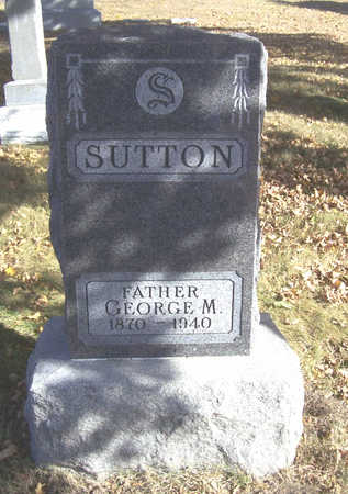 SUTTON, GEORGE M. (FATHER) - Shelby County, Iowa | GEORGE M. (FATHER) SUTTON