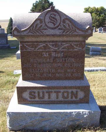 SUTTON, ELIZABETH - Shelby County, Iowa | ELIZABETH SUTTON