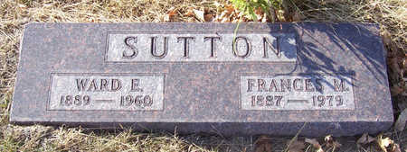 SUTTON, FRANCES M. - Shelby County, Iowa | FRANCES M. SUTTON