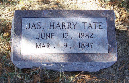 TATE, JAS. HARRY - Shelby County, Iowa | JAS. HARRY TATE