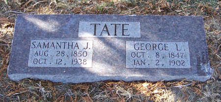 TATE, GEORGE L. - Shelby County, Iowa | GEORGE L. TATE