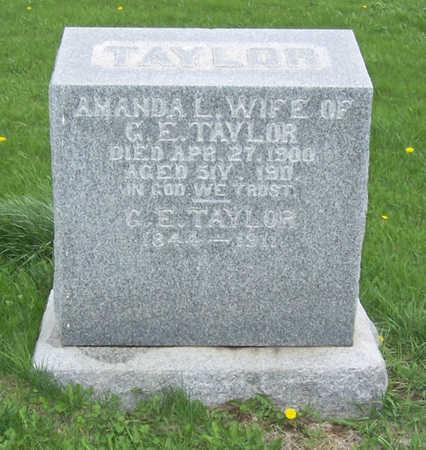 TAYLOR, AMANDA L. - Shelby County, Iowa | AMANDA L. TAYLOR