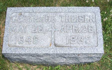 THEISEN, GERTRUDE - Shelby County, Iowa | GERTRUDE THEISEN