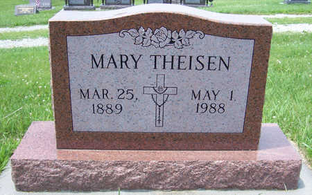 THEISEN, MARY - Shelby County, Iowa | MARY THEISEN
