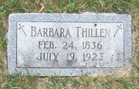THILLEN, BARBARA - Shelby County, Iowa | BARBARA THILLEN