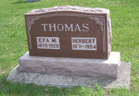 THOMAS, EFA MINTON - Shelby County, Iowa | EFA MINTON THOMAS