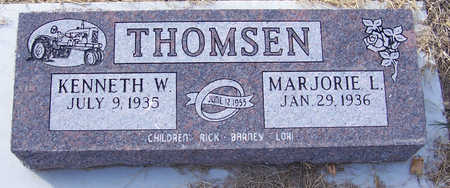 THOMSEN, KENNETH W. - Shelby County, Iowa | KENNETH W. THOMSEN