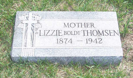 THOMSEN, LIZZIE - Shelby County, Iowa | LIZZIE THOMSEN