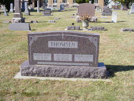 THOMSEN, HARRY REV. - Shelby County, Iowa | HARRY REV. THOMSEN