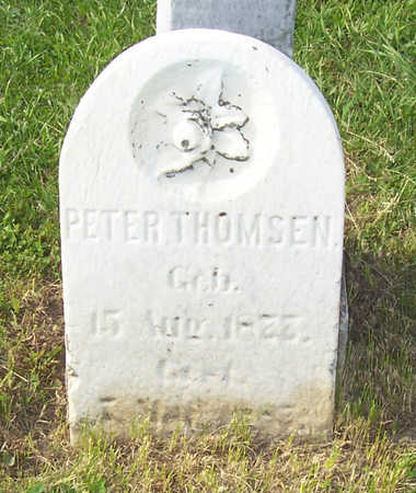 THOMSEN, PETER - Shelby County, Iowa | PETER THOMSEN