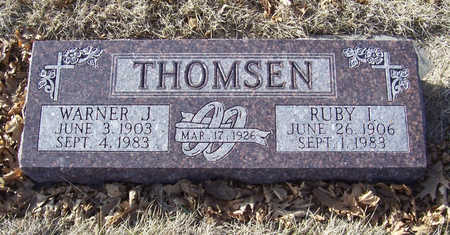 THOMSEN, WARNER J. - Shelby County, Iowa | WARNER J. THOMSEN