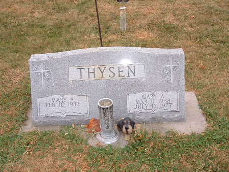 THYSEN, MARY A - Shelby County, Iowa | MARY A THYSEN