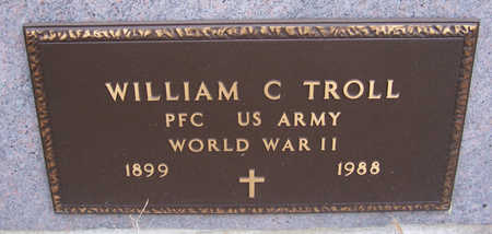 TROLL, WILLIAM C. (MILITARY) - Shelby County, Iowa | WILLIAM C. (MILITARY) TROLL