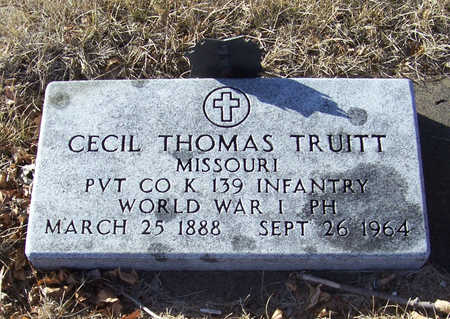 TRUITT, CECIL THOMAS (MILITARY) - Shelby County, Iowa | CECIL THOMAS (MILITARY) TRUITT
