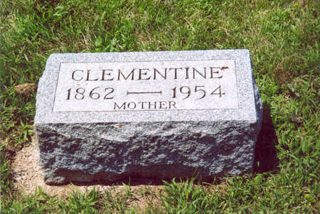 TRYON, CLEMENTINE - Shelby County, Iowa   CLEMENTINE TRYON